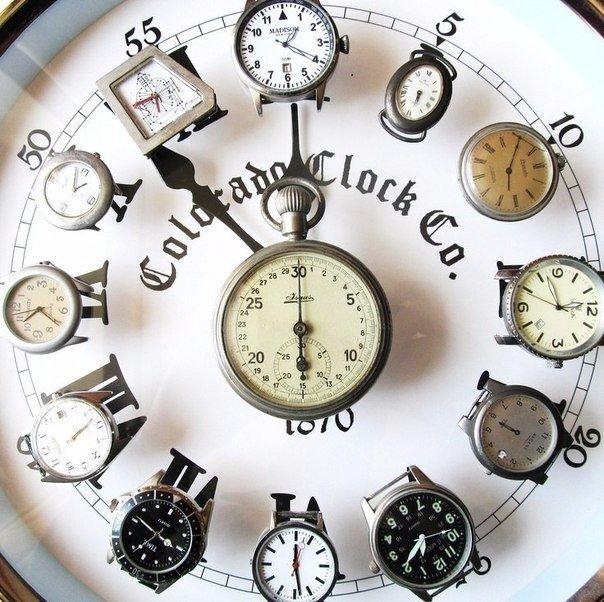 Что можно сделать из старых часов своими руками 70