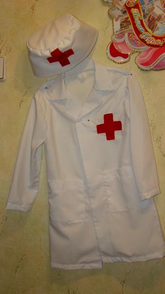 Сшить детский костюм медсестры своими руками 92