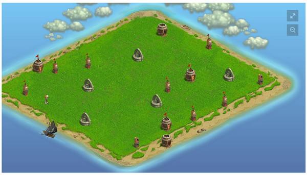 Карта пиратских островов - Зомби Ферма - Группы Мой Мир