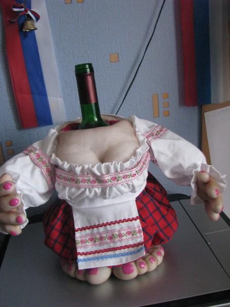 Кукла мастер класс из бутылки