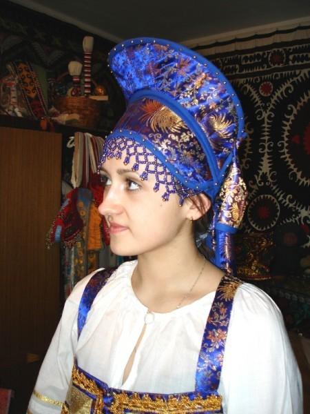 Кокошник к русскому сарафану своими руками 90