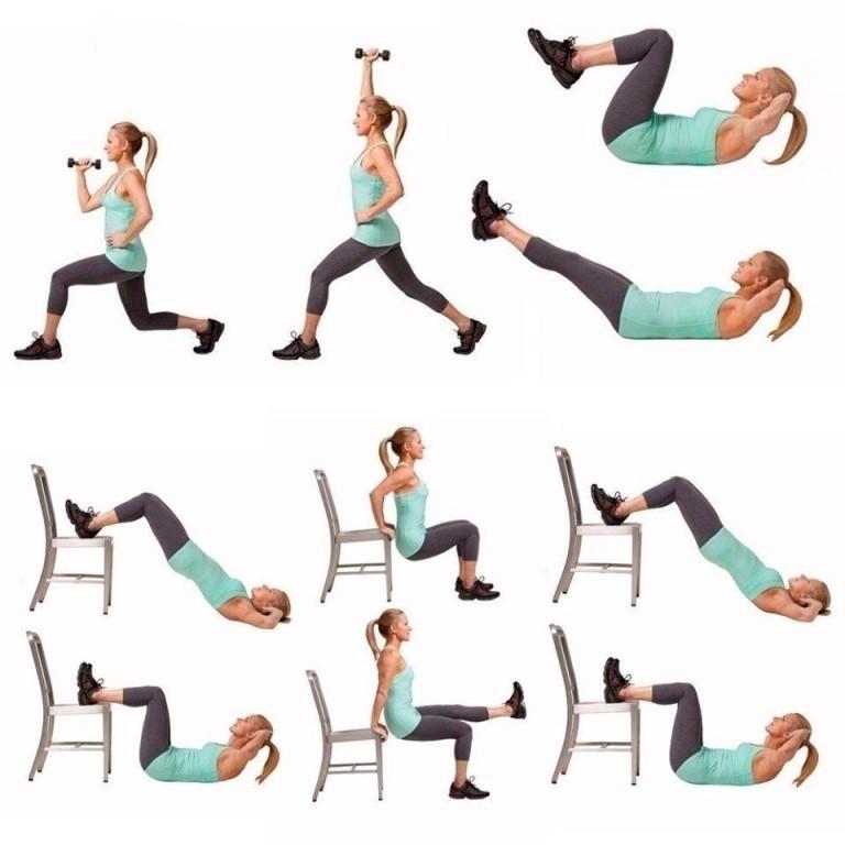 Домашние Тренировки Для Похудения Эффективные. Лучшие упражнения для похудения: ТОП-7 самых-самых