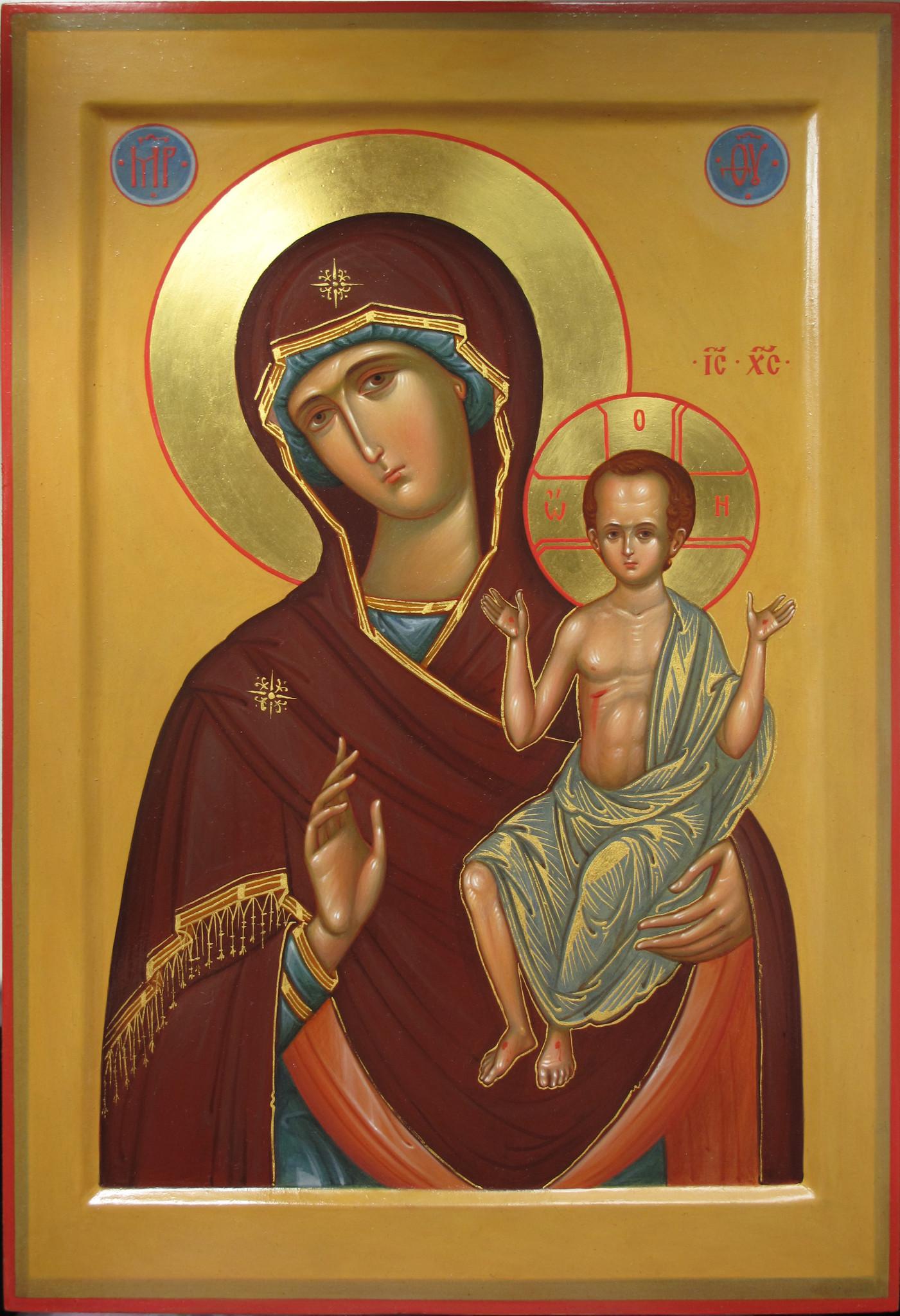 который любил канонические иконы богородицы фото кисть