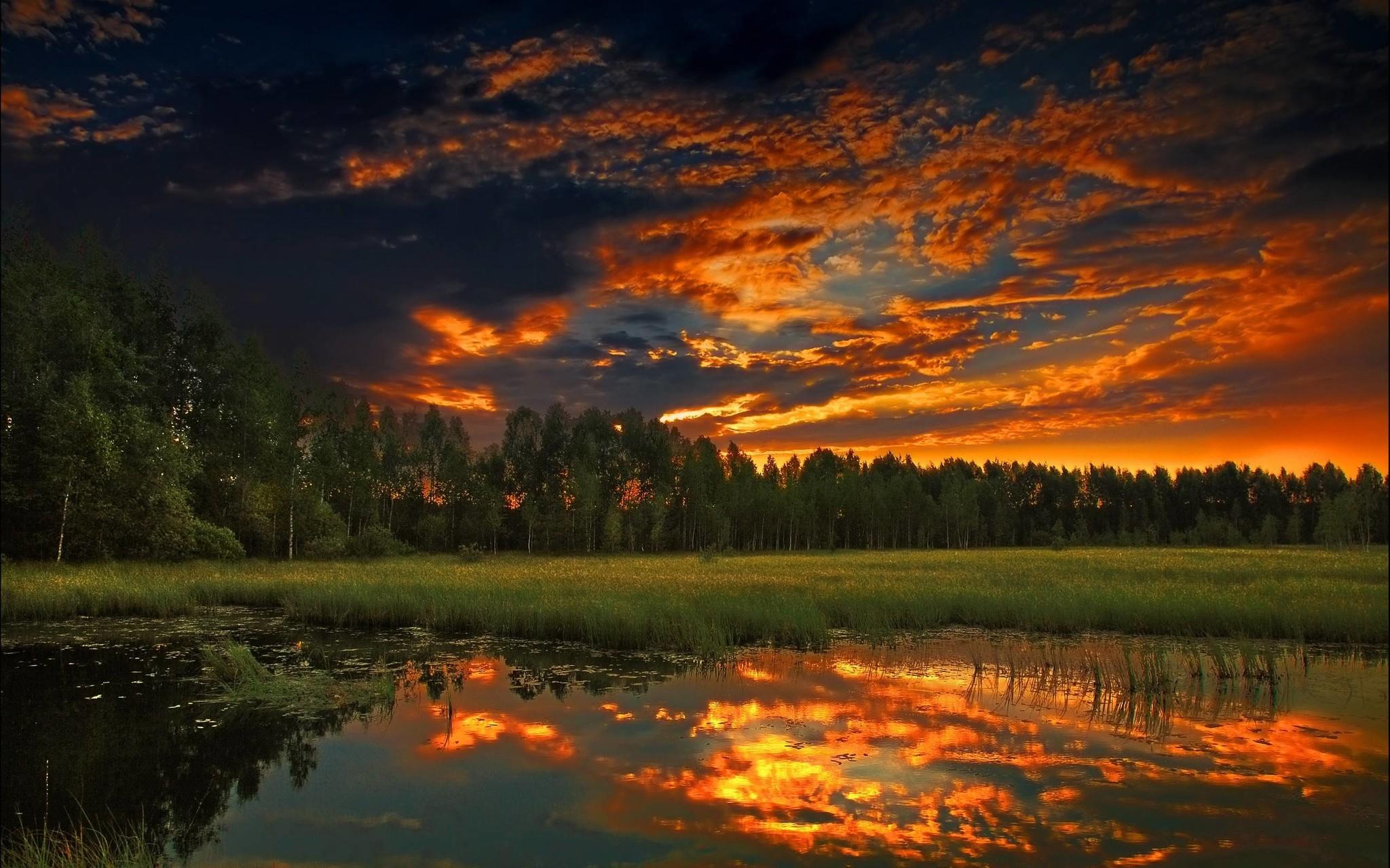 Сделать, добрый вечер картинки с природой