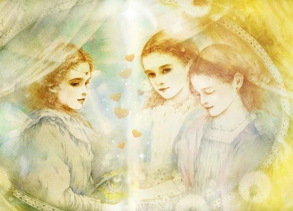 Открытки 3 сестры
