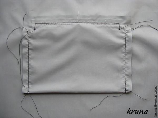 Как сделать внутренний карман в сумке
