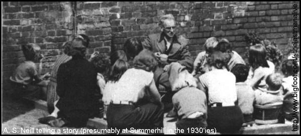 """the life of as neill the founder of summerhill free school Summerhill - an overview """"all crimes, all hatreds, all wars can be reduced to unhappiness"""" wrote a s neill, founder of summerhill school today, all over the world, education is moving towards more and more testing, more examinations and."""